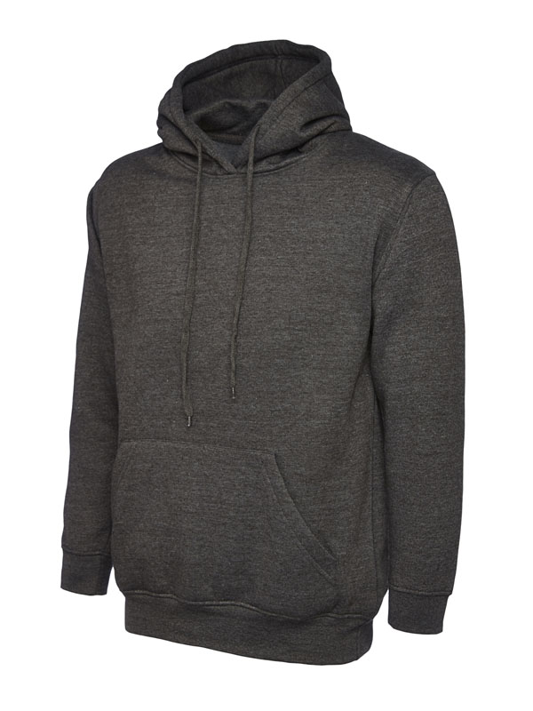 Classic Hooded Sweatshirt UC502 charcoal