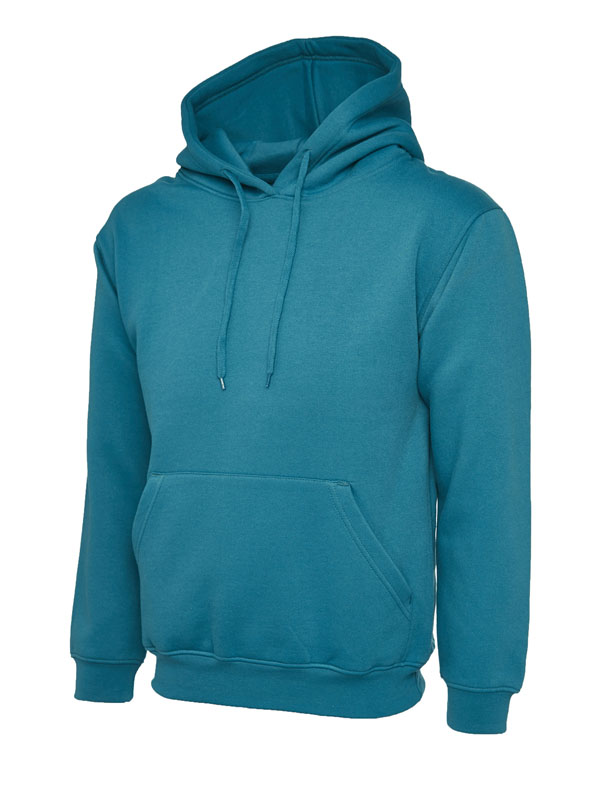 Classic Hooded Sweatshirt UC502 jade