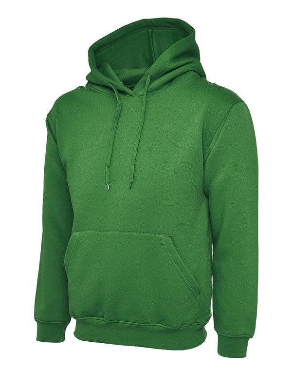 Classic Hooded Sweatshirt UC502 kelly green