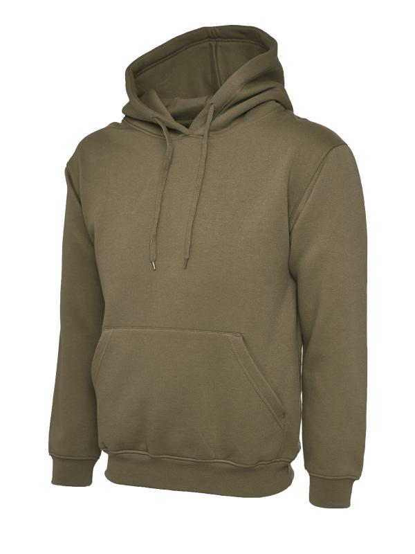 Classic Hooded Sweatshirt UC502 military green