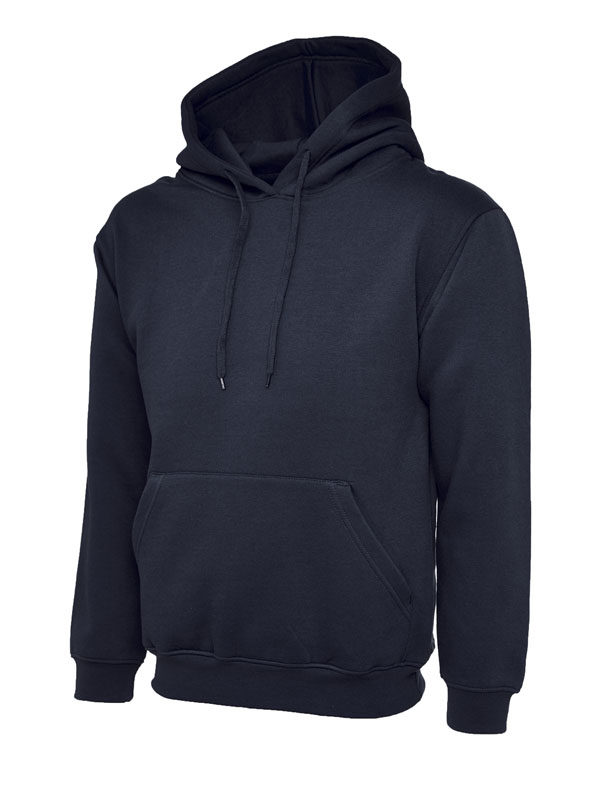 Classic Hooded Sweatshirt UC502 navy