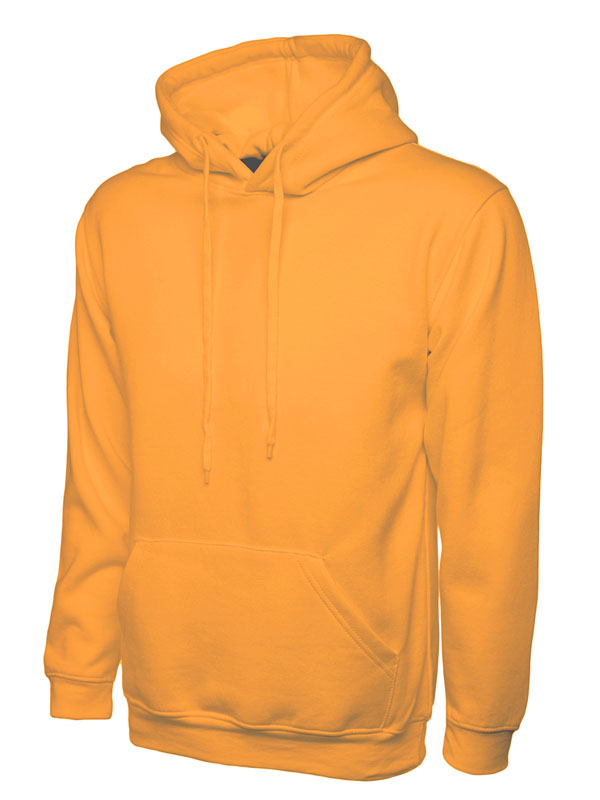 Classic Hooded Sweatshirt UC502 orange