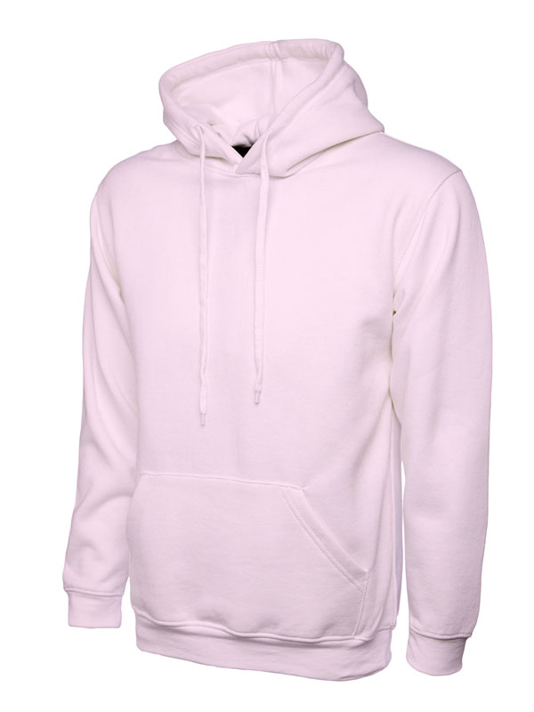 Classic Hooded Sweatshirt UC502 pink