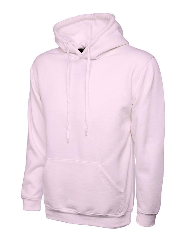 Classic Hooded Sweatshirt UC502 pink