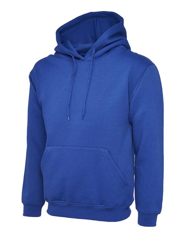 Classic Hooded Sweatshirt UC502 royal