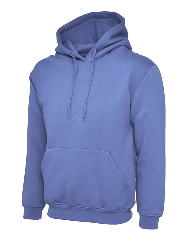 Classic Hooded Sweatshirt UC502 violet