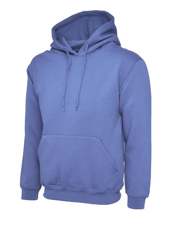Classic Hooded Sweatshirt UC502 violet