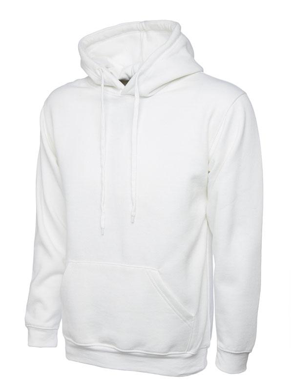 Classic Hooded Sweatshirt UC502 white