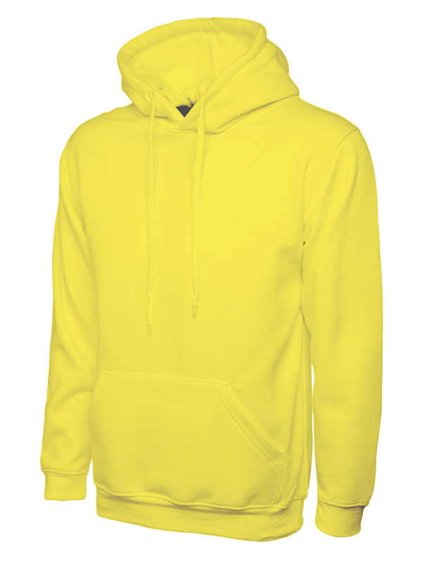 Classic Hooded Sweatshirt UC502 yellow