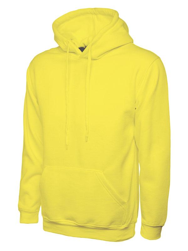 Classic Hooded Sweatshirt UC502 yellow