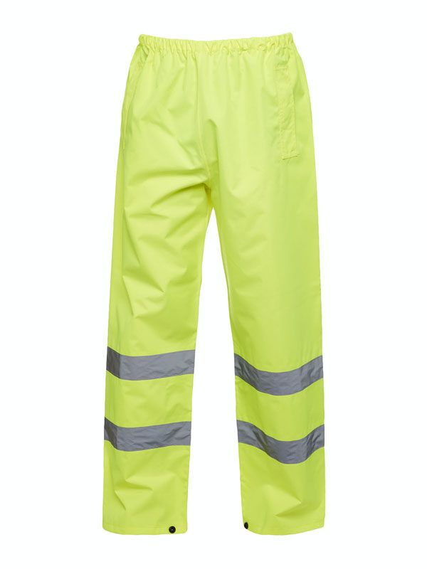 Hi Vis Trousers UC807 yellow