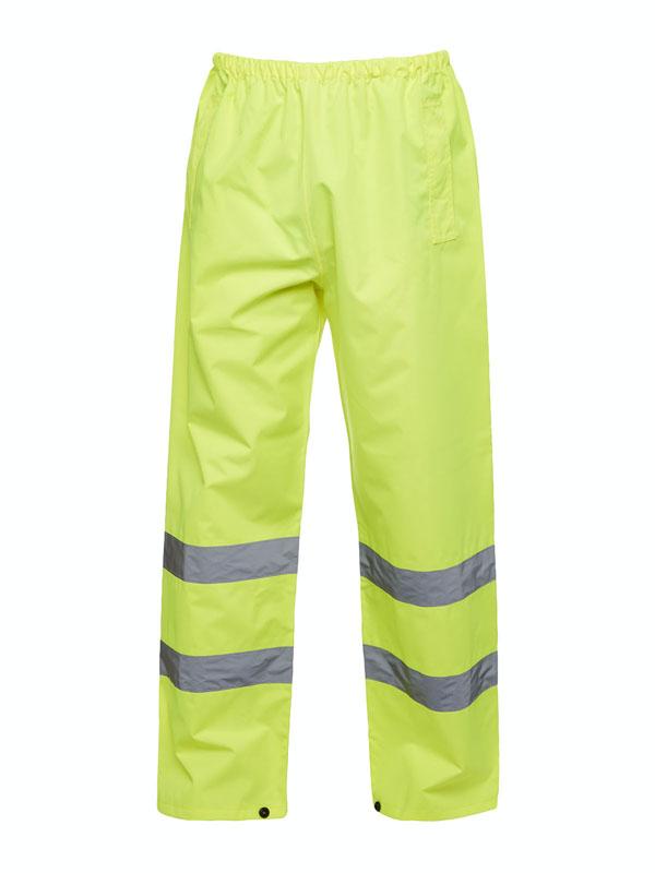 Hi Vis Trousers UC807 yellow