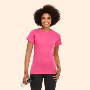 Ladies Classic Crew Neck T Shirt UC318