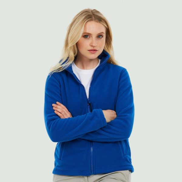 Ladies Classic Full Zip Fleece Jacket