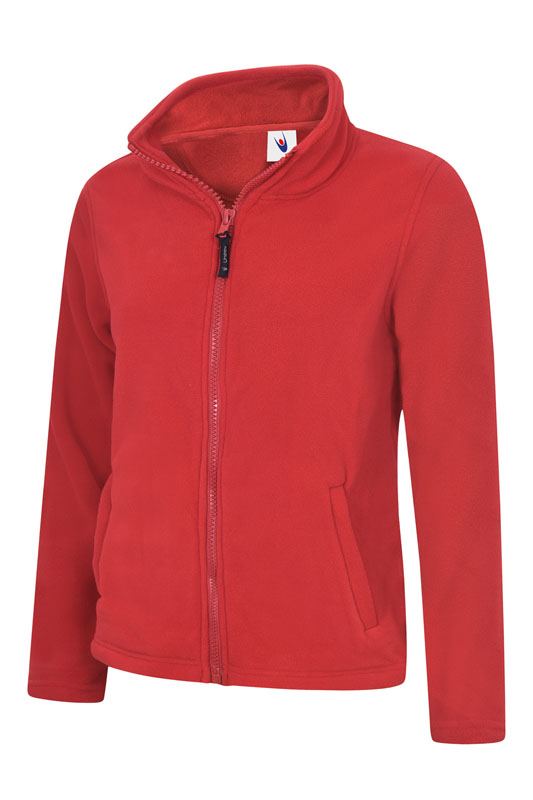 Ladies Classic Full Zip Fleece Jacket rd