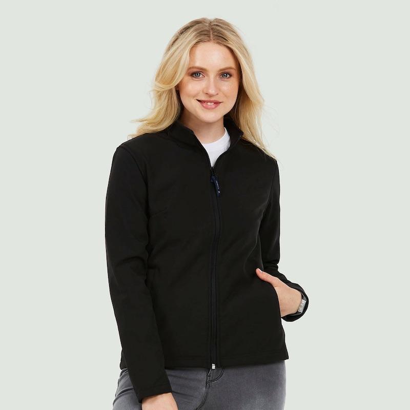 Ladies Classic Full Zip Soft Shell Jacket UC613
