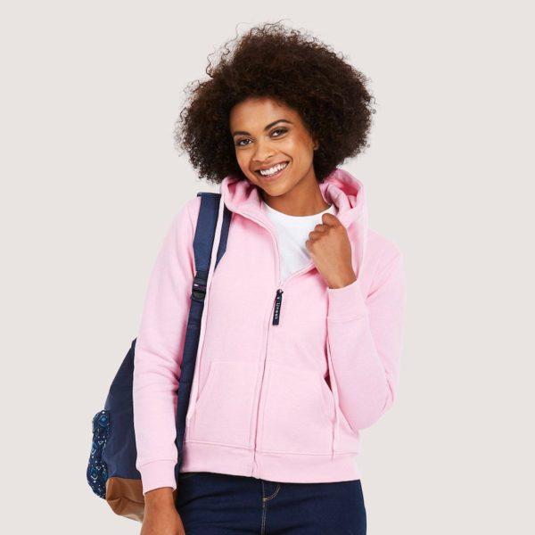 Ladies Classic Full Zip Sweatshirt 300gsm UC505