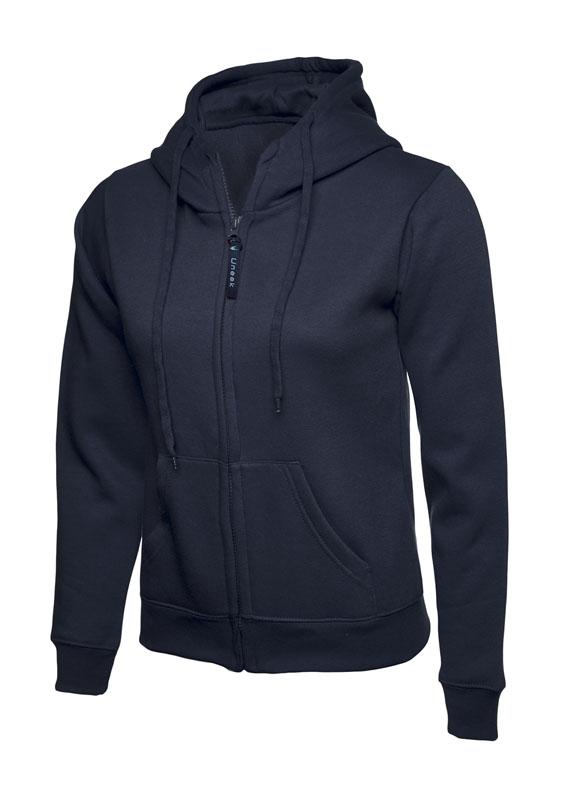 Ladies Classic Full Zip Sweatshirt 300gsm UC505 nv