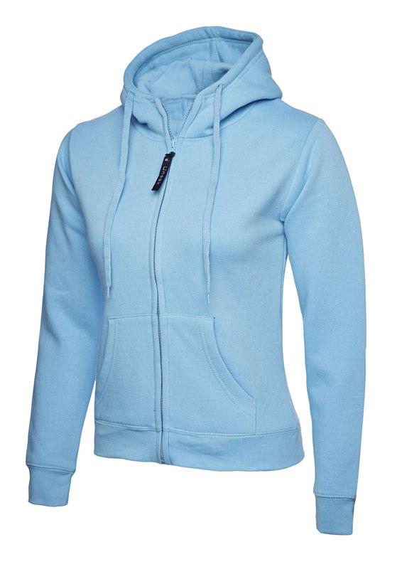 Ladies Classic Full Zip Sweatshirt 300gsm UC505 sky