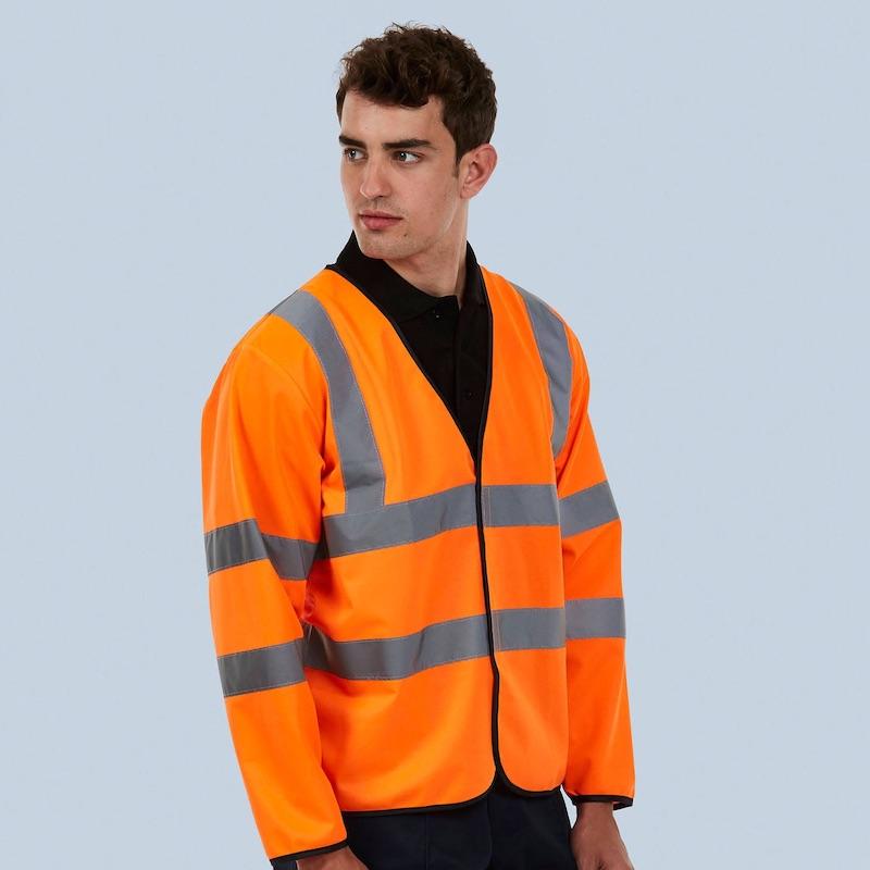 Long Sleeve Safety Waist Coat UC802