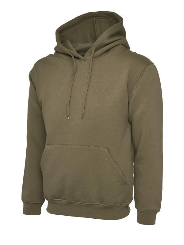 Olympic Hooded Sweatshirt UC508 olive