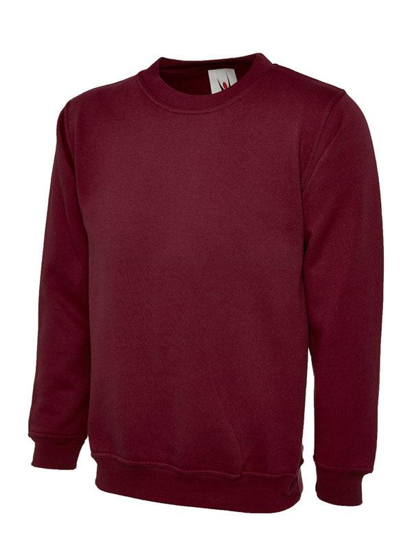 Olympic Sweatshirt UC205 maroon