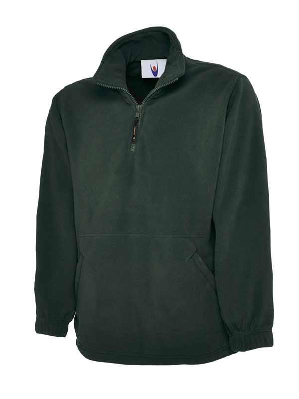 Premium 1 4 Zip Micro Fleece Jacket bg