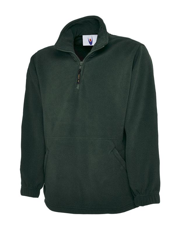 Premium 1 4 Zip Micro Fleece Jacket bg