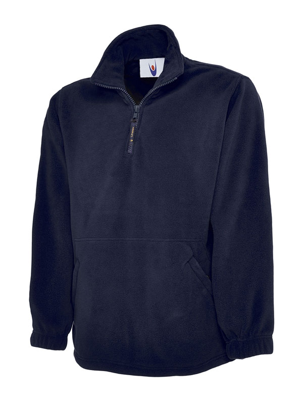 Premium 1 4 Zip Micro Fleece Jacket nv