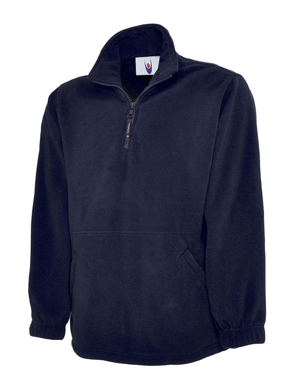 Premium 1 4 Zip Micro Fleece Jacket nv