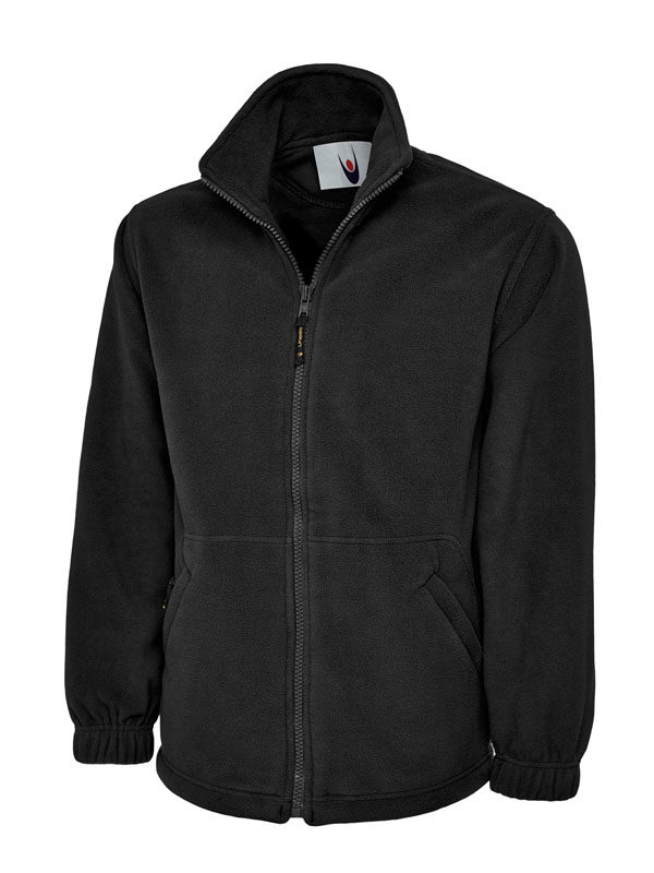 Premium Full Zip Micro Fleece Jacket UC601 bk