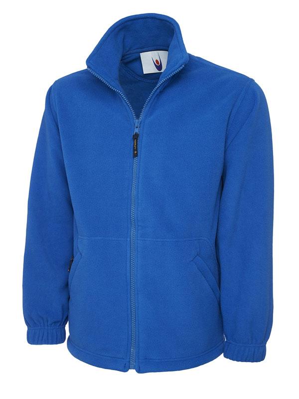Premium Full Zip Micro Fleece Jacket UC601 royal