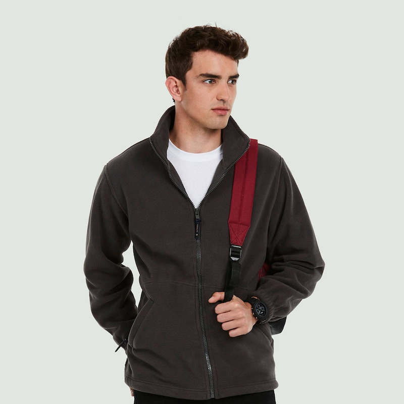 Premium Full Zip Micro Fleece Jacket UC601