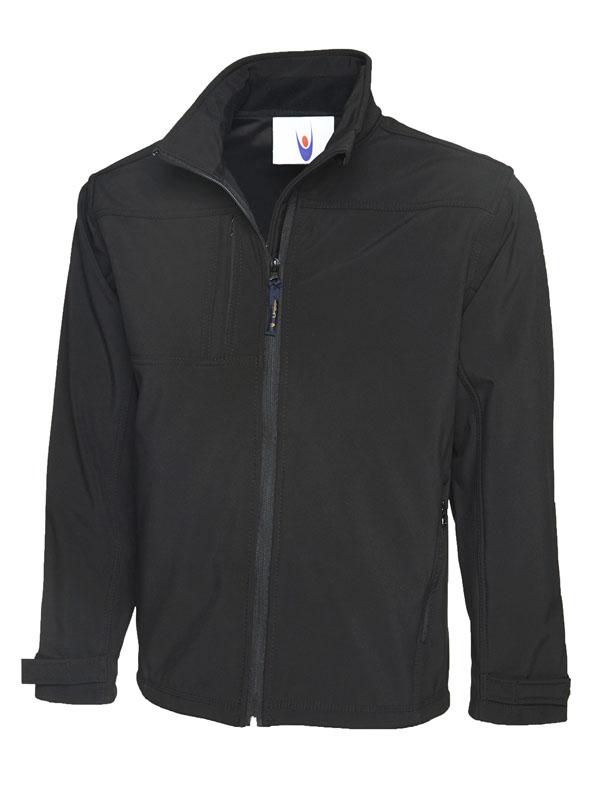 Premium Full Zip Soft Shell Jacket UC611 bk