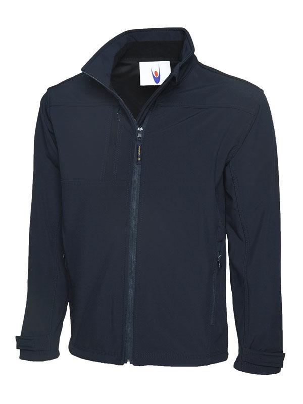 Premium Full Zip Soft Shell Jacket UC611 nv