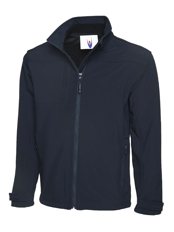 Premium Full Zip Soft Shell Jacket UC611 nv