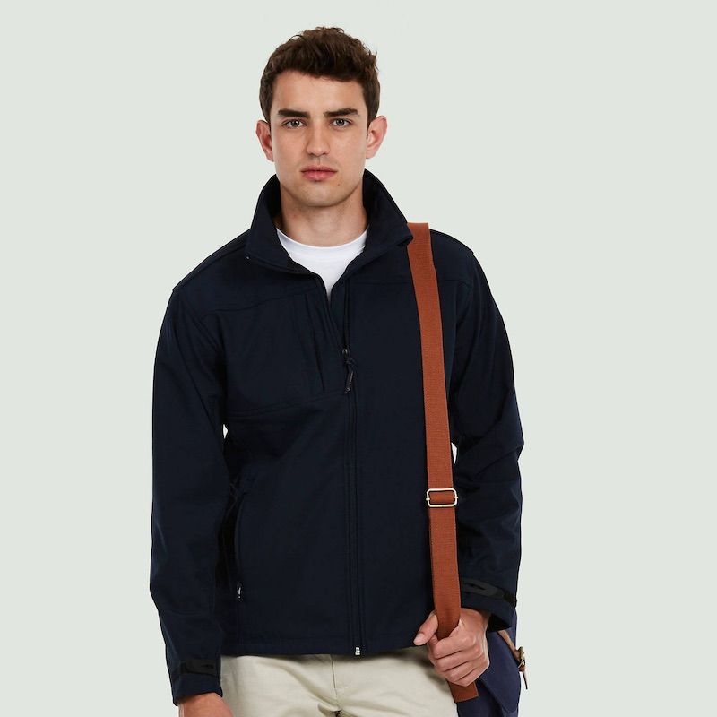 Premium Full Zip Soft Shell Jacket UC611