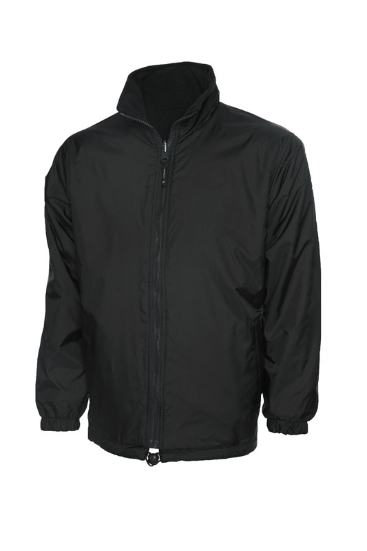 Premium Reversible Fleece Jacket bk