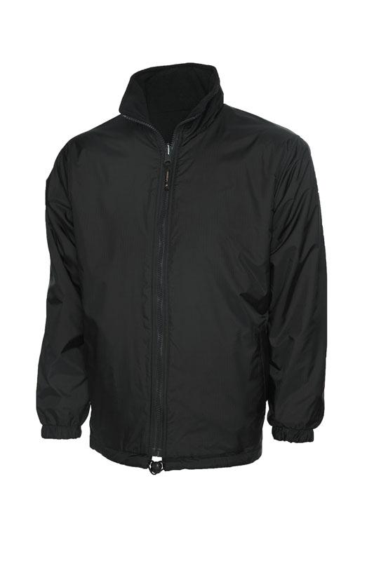 Premium Reversible Fleece Jacket bk