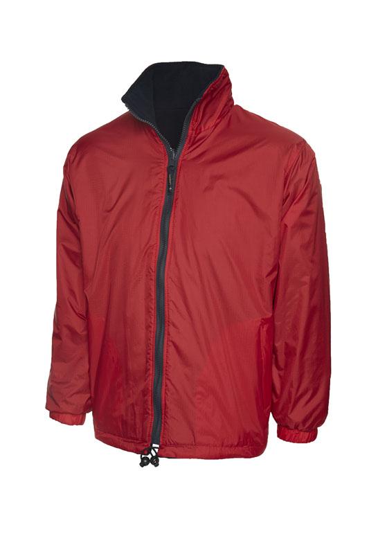 Premium Reversible Fleece Jacket rd nv