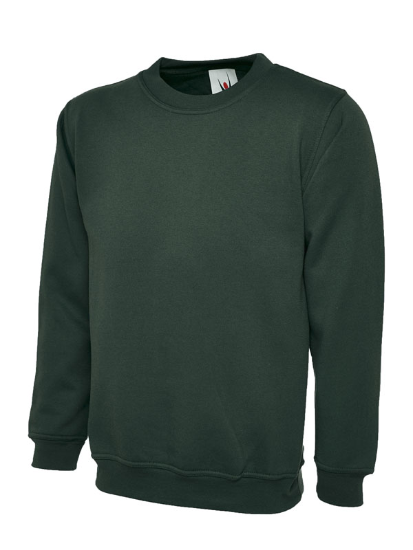 Premium Sweatshirt 350GSM UC201 bottle green