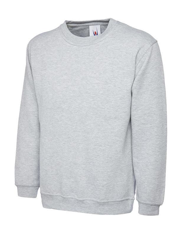 Premium Sweatshirt 350GSM UC201 heather grey
