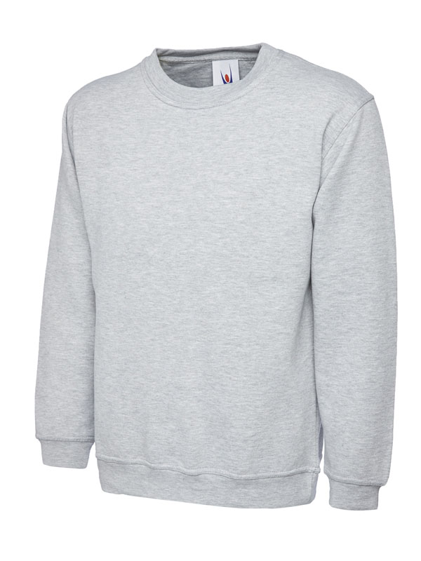 Premium Sweatshirt 350GSM UC201 heather grey