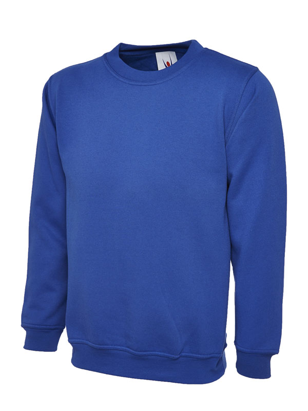 Premium Sweatshirt 350GSM UC201 royal blue