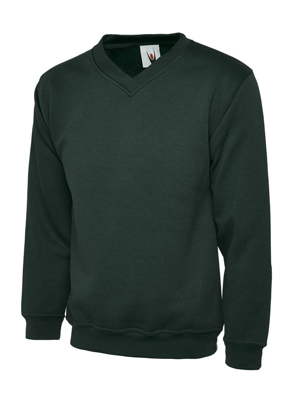 Premium V Neck Sweatshirt UC204 bg