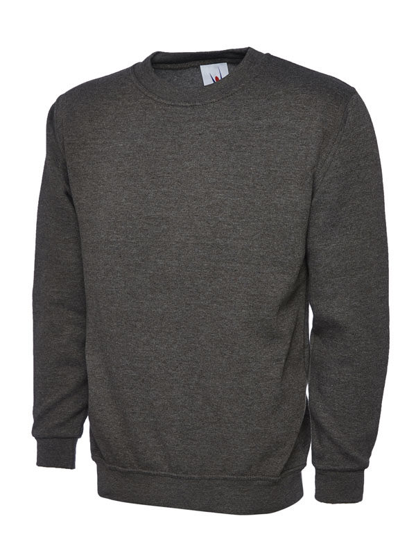Sweatshirt UC203 300gsm charcoal