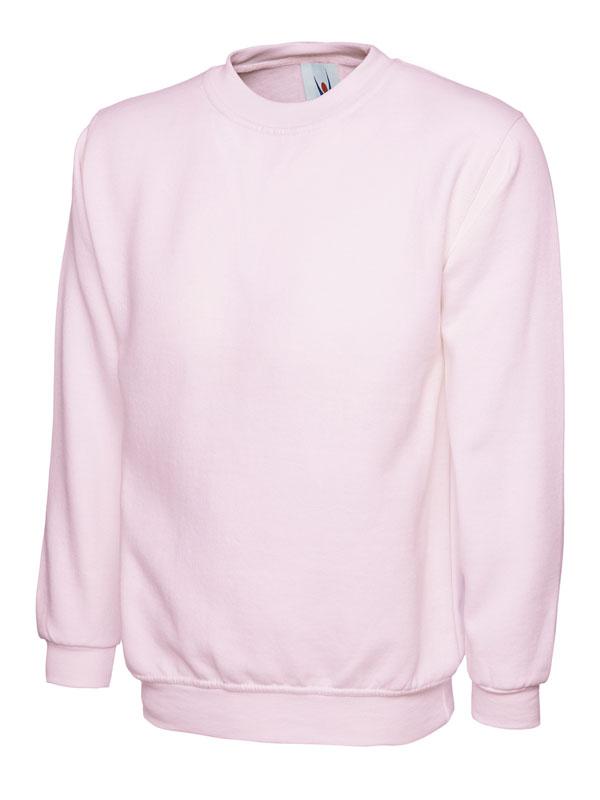 Sweatshirt UC203 300gsm pink