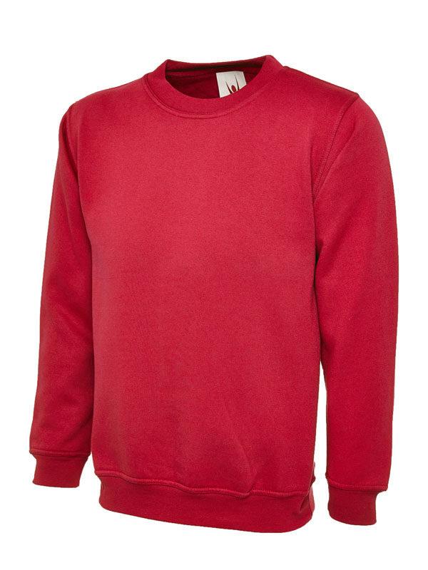 Sweatshirt UC203 300gsm red
