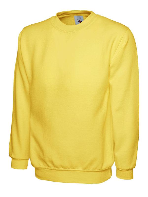 Sweatshirt UC203 300gsm yellow