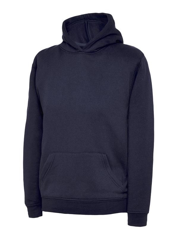 childrens hooded sweatshirt 300gsm UC503 navy